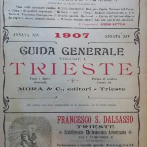 E' iniziato il restauro delle Guide generali di Trieste.